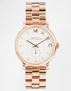 Marc Jacobs - Baker - MBM3244 - Montre - Or rose 247,99 €