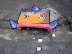 Street Art by SAO in São Paulo, Brazil