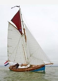 boten One Off Gaffelkotter - Klassieke boot Hout - 2014 gevonden op boten.nl