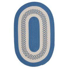 Charlton Home Germain Blue/Beige Indoor/Outdoor Area Rug Rug Size: