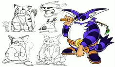 Sonic & Friends Concept Art Through The Ages Shown At 25th Anniversary Event – My Nintendo News