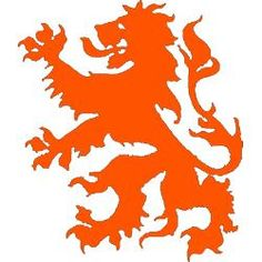 The Dutch lion. Most will recognize it from the KNVB (Dutch Soccer Association) and the Dutch national soccer team. The lion visualises spirit and power, these are the things Dutch people want to see from the soccer players when they play an important game versus another country.