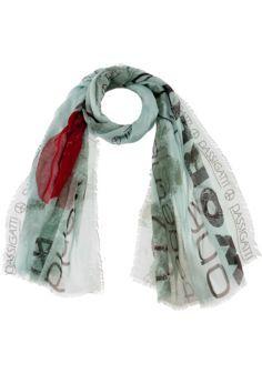 Cashmere-Seiden Schal Blumen Design - Passigatti Online Shop