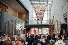 Wedding at Joslyn Art Museum in Omaha, Nebraska. Photo by Scarlett Crews Photography.