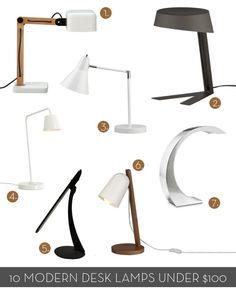 roundup 10 modern minimalist desk lamps under 100 curbly diy design community bandero office desk 100