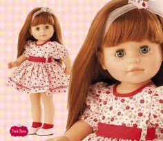 Nastia de la colección Soy tú. Una muñeca pelirroja preciosa. #dolls #muneca #redhair #pelirroja #flower  #red #rojo