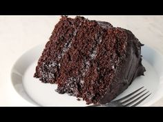 The Most Amazing Chocolate Cake - thestayathomechef.com Bruce Bogtrotter cake!