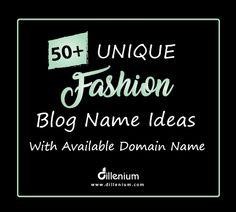 fashion blog name ideas Fashion Names Ideas, Fashion Store Names, Blog Names Inspiration, Indian Clothing Brands, Clothing Line Names, Store Names Ideas, Domain Name Ideas, Unique Business Names, Boutique Names