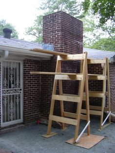 Homemade Scaffolding By Fixerupper Via Flickr Rent