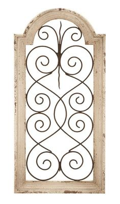 Wood And Metal Wall Panels metal scrollwork butterfly wood wall art panel country home decor