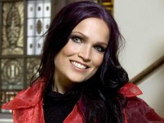 Tarja_Turunen_ purple hair!
