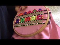 Ribbon Embroidery Simple Stitches For Easy Embellishments after Easy Embroidery Stitches For Letters one Hand Embroidery Stitches Tutorial For Beginners. Easy Embroidery Stitches By Hand also How To Do Easy Embroidery Stitches Diy Embroidery Patterns, Christmas Embroidery Patterns, Hand Embroidery Videos, Hand Embroidery Flowers, Embroidery Stitches Tutorial, Hand Work Embroidery, Easy Crochet Patterns, Machine Embroidery, Ribbon Embroidery