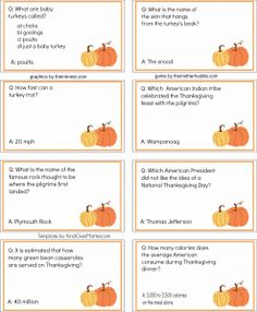 Free--Thanksgiving Trivia game