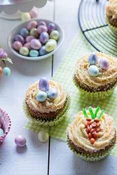 13296678163 aae268cd92 o Easter Carrot Cupcakes with Maple Cream Cheese Frosting