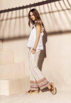 Rapsodia SS16 Yves Klein, Ethnic Chic, Moda Boho, Boho Fashion, Fashion Trends, Ss16, Casual Chic, Summer Outfits, Shirt Dress