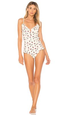 e59116439e864 Mon Cheri One Piece in Ivory Cherry Flattering Swimsuits