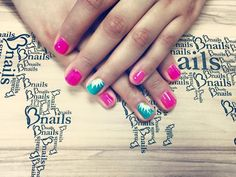 Pink Best Nail Salon, White Nail Art, Salon Services, Heart Nails, Shellac Nails, Pink Turquoise, Nail Shop, Nail Arts, Swag Nails
