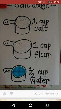 Salt dough recipie