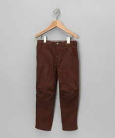 Take a look at this Brown Cargo Pants - Toddler & Boys by Freestyle Revolution on #zulily today!