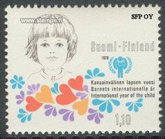 Postimerkki 1979 Suomi, Lapsen vuosi  (kansainvälinen lapsen vuosi)