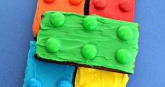 20. Lego Brownies | 50 Kid-Friendly Party Foods You Love To Serve | Cooking Lessons