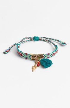 Free shipping and returns on Cara Tassel Woven Friendship Bracelet at Nordstrom.com. Golden details and a playful tassel give boho updates to a classic woven friendship bracelet.