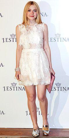 Dakota Fanning #LWD #lace