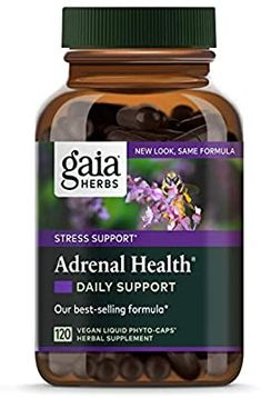 Gaia Herbs Adrenal Health Daily Support, Stress Relief and Adrenal Fatigue Supplement Adrenal Health, Adrenal Fatigue, Gaia, Female Hormone Imbalance, Adrenal Support, Physical Stress, Ayurvedic Herbs, Stress Relief, Amazon