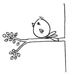 easy bird drawings step by step Bird Drawings, Doodle Drawings, Drawing Sketches, Drawing Ideas, Bird Doodle, Cute Easy Drawings, Simple Doodles Drawings, Cute Birds, Fun 2 Draw