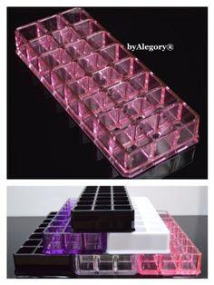 Acrylic Lipstick Organizer byAlegory® PINK Transparent  Price : $13.89 http://www.byalegory.com/Acrylic-Lipstick-Organizer-byAlegory®-Transparent/dp/B00E00X3RS