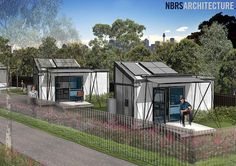 """Australia's first tiny home project approved for NSW homeless - Tiny Homes Foundation  """"A home is not just a roof overhead, it is a springboard under your feet.""""  David Wooldridge, THF Co-founder and CEO."""