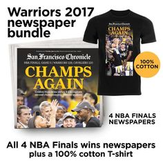 7dba36728a7 Warriors 2017 season newspaper bundle. 2017 Nba FinalsNba Finals GameWorld  SeriesNewspaper CoverSan Francisco BasketballRules For ...