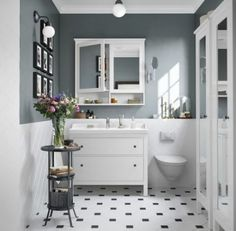 Adorable 33 Beautiful Cabinet Remodel Ideas For Bathroom. Ikea Vanity, Diy Bathroom Vanity, Diy Bathroom Remodel, Bathroom Styling, Small Bathroom, Bathroom Storage, Bathroom Remodeling, Vanity Redo, Bathroom Carpet