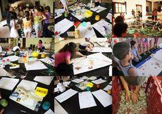Nella mia Città: Laboratorio di architettura partecipata, costruzione collettiva e movimento creativo rivolto a bambini dai 5 ai 10 anni e genitori.