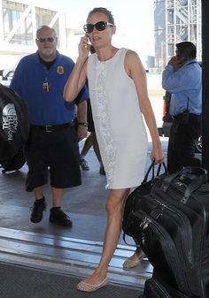 Diane Kruger Photos: Diane Kruger & Joshua Jackson Depart From LAX