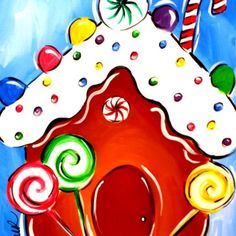 11/30/2014 Sun Gingerbread Fun 3-5pm from Canvas By U - East Cobb for $20.00 on Square Market