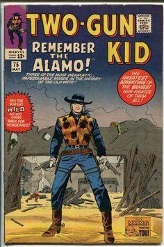 Two-Gun Kid #075 Pencils: Jack Kirby Inks: Vince Colletta Colors: Stan Goldberg Marvel (May1965)