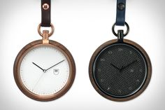 With clean, modern designs, these MMT Pocket Watches move the classic timepiece style squarely into the present day. They're equipped with either two-hand, three-hand, or three-hand-plus-date Japanese movements, and feature stainless steel cases in a variety of finishes and platings,...