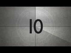 Old Movie Countdown Timer With Sound Effect HD - YouTube