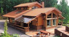 Fachadas de Casas de Campo Maravilhosas!!!