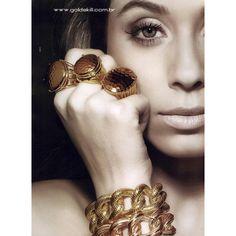 Gold Skill Ad Campaign Spring/Summer 2012 - MyFDB found on Polyvore #kazar #inspiracja