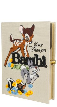 Olympia Le-Tan x Bambi Book Clutch