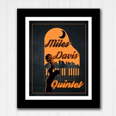 #LGLimitlessDesign  #Contest  Jazz Minimalist Poster Miles Davis Buy 2 Get 1 FREE