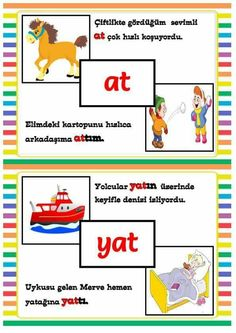 Turkish Lessons, Learn Turkish, Turkish Language, Pre School, Activities, Education, Learning, Kids, Vocabulary