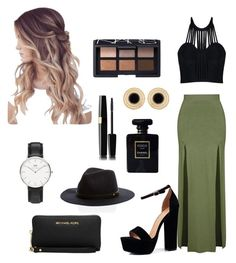 """""""Untitled #33"""" by ines-styles-2 on Polyvore featuring Topshop, Posh Girl, Boohoo, Michael Kors, Daniel Wellington, Chanel and NARS Cosmetics"""