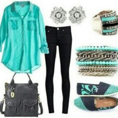 cute outfit (: