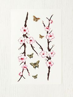 I'm loving how feminine this would look and how it would add a beautiful touch of colour. 2 branches would be overkill but I love this!