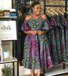 Here are some lovely 2019 African ankara gowns that will make you look presentable in every occasion. Short African Dresses, Ankara Short Gown Styles, African Fashion Designers, Latest African Fashion Dresses, African Print Dresses, African Print Fashion, Ankara Gowns, Ankara Styles For Women, Short Styles