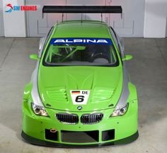 #SWEngines BMW Alpina B6 GT3 is based on the BMW 6 Series and powered by a supercharged.