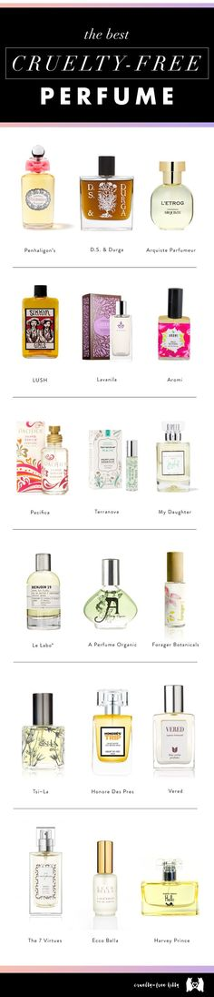 Perfume companies that don't test on animals. | @The GOCO Collective | Minimal Wardrobe + Cruelty-Free Beauty